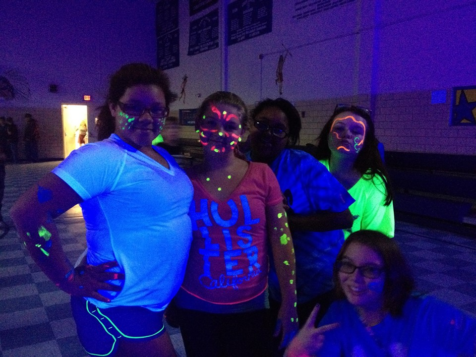 GLO PARTY FUN!!!!